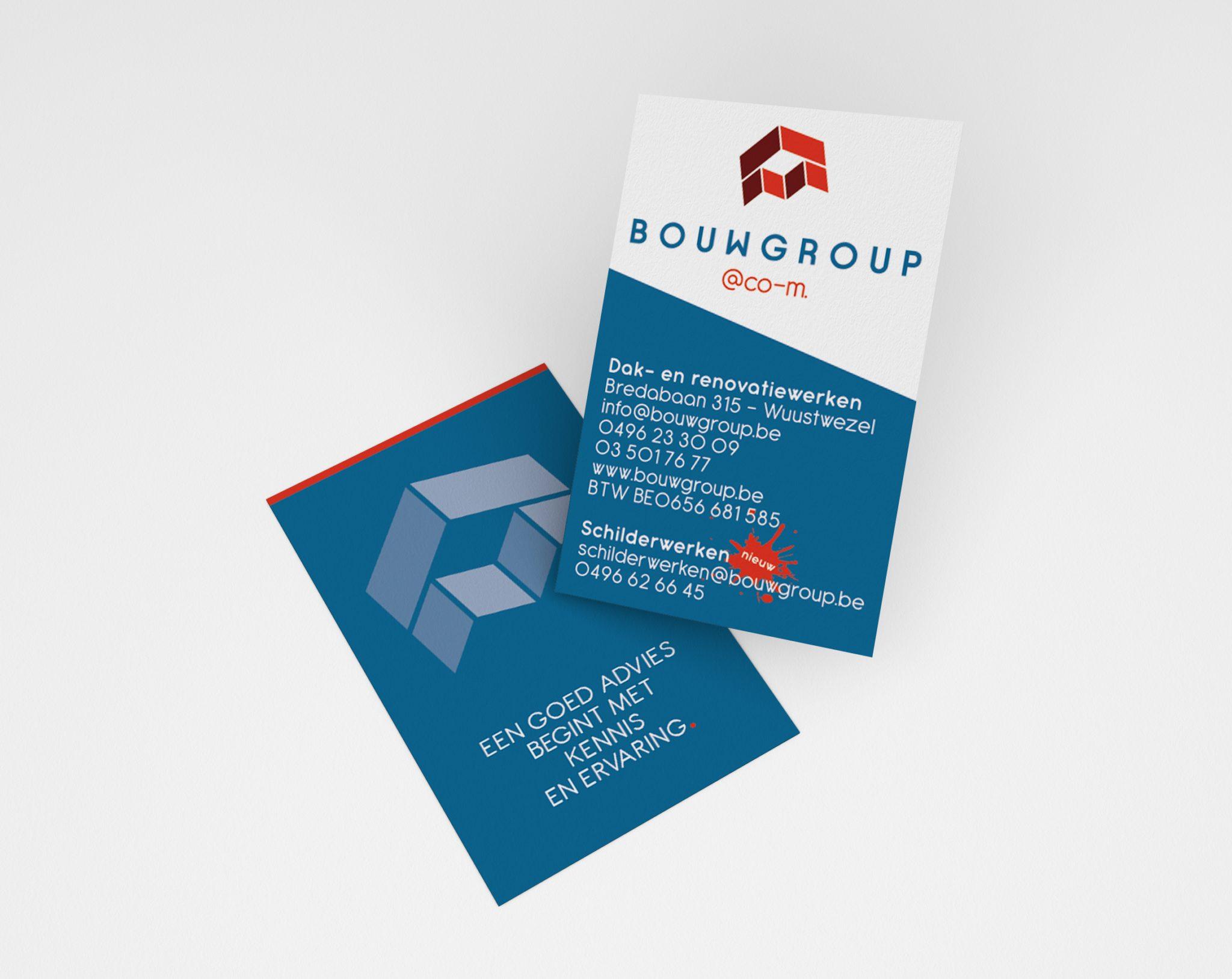 Visitekaartjes Bouwgroup