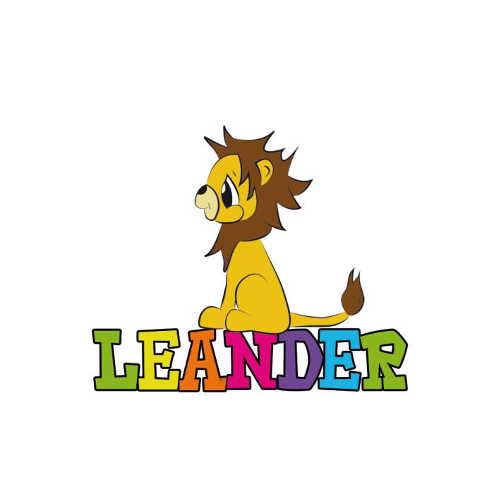 Illustratie Leeuw Leander