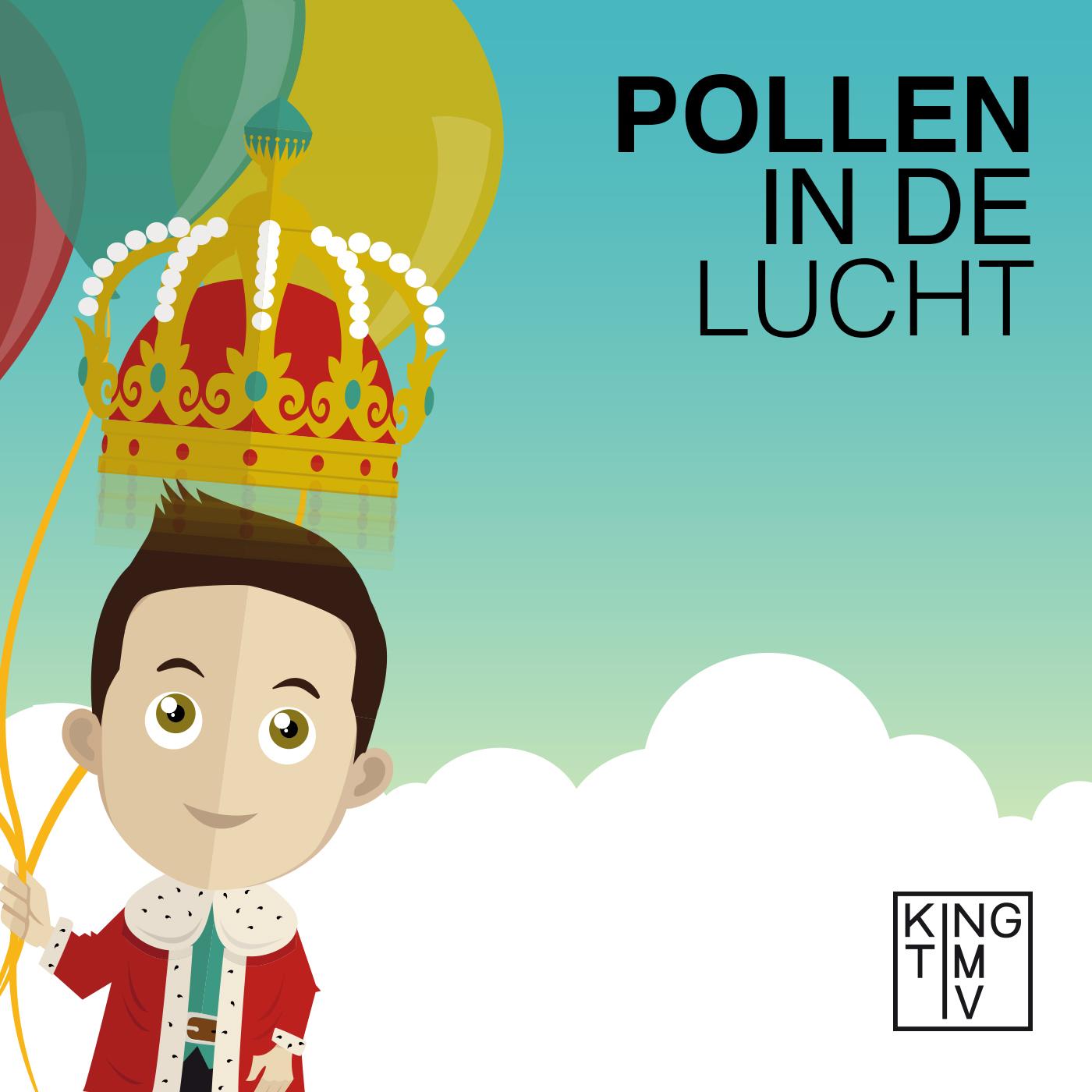 Singlecover King Tim IV - Pollen in de Lucht