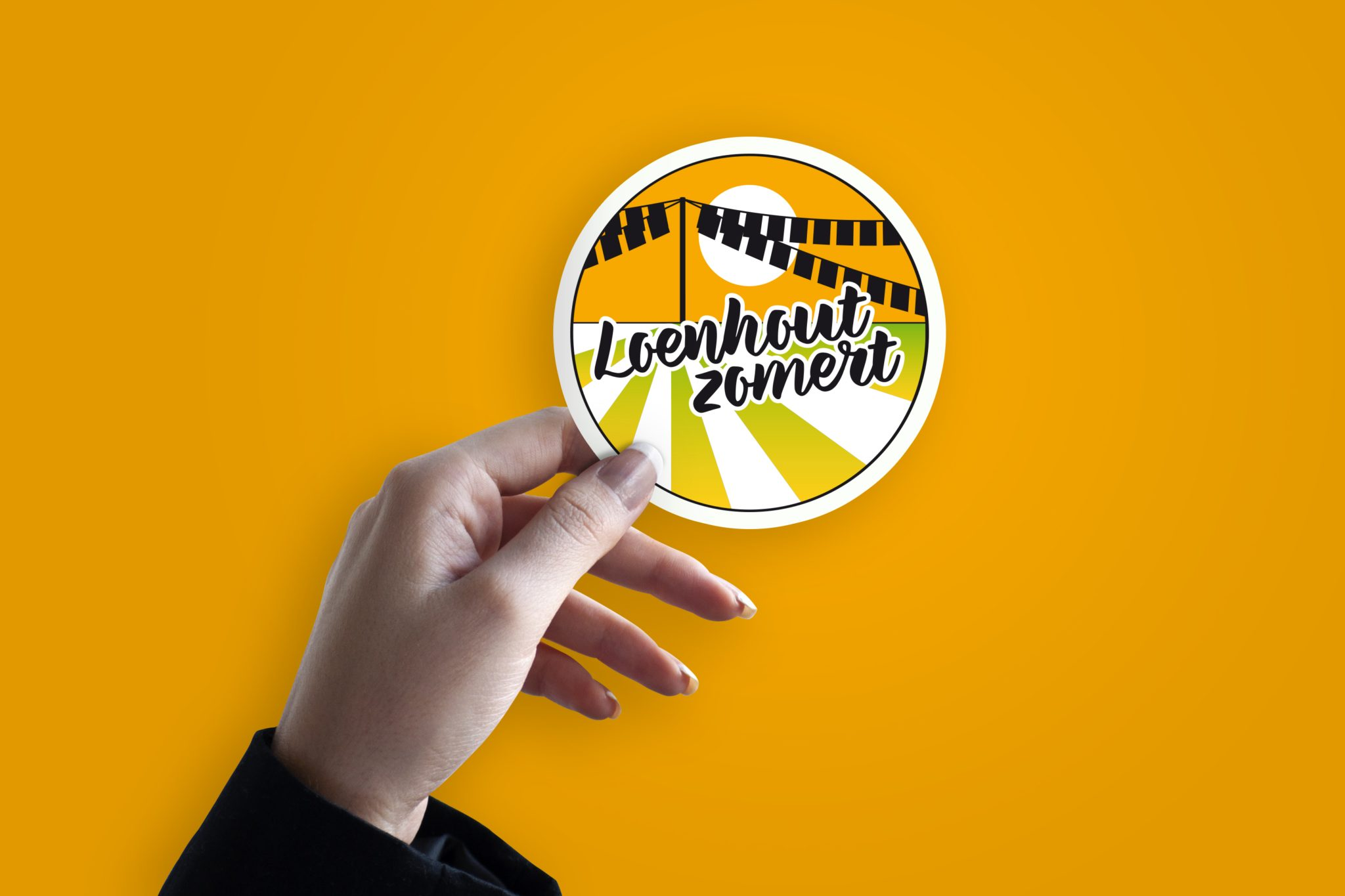 Logo Loenhout Zomert