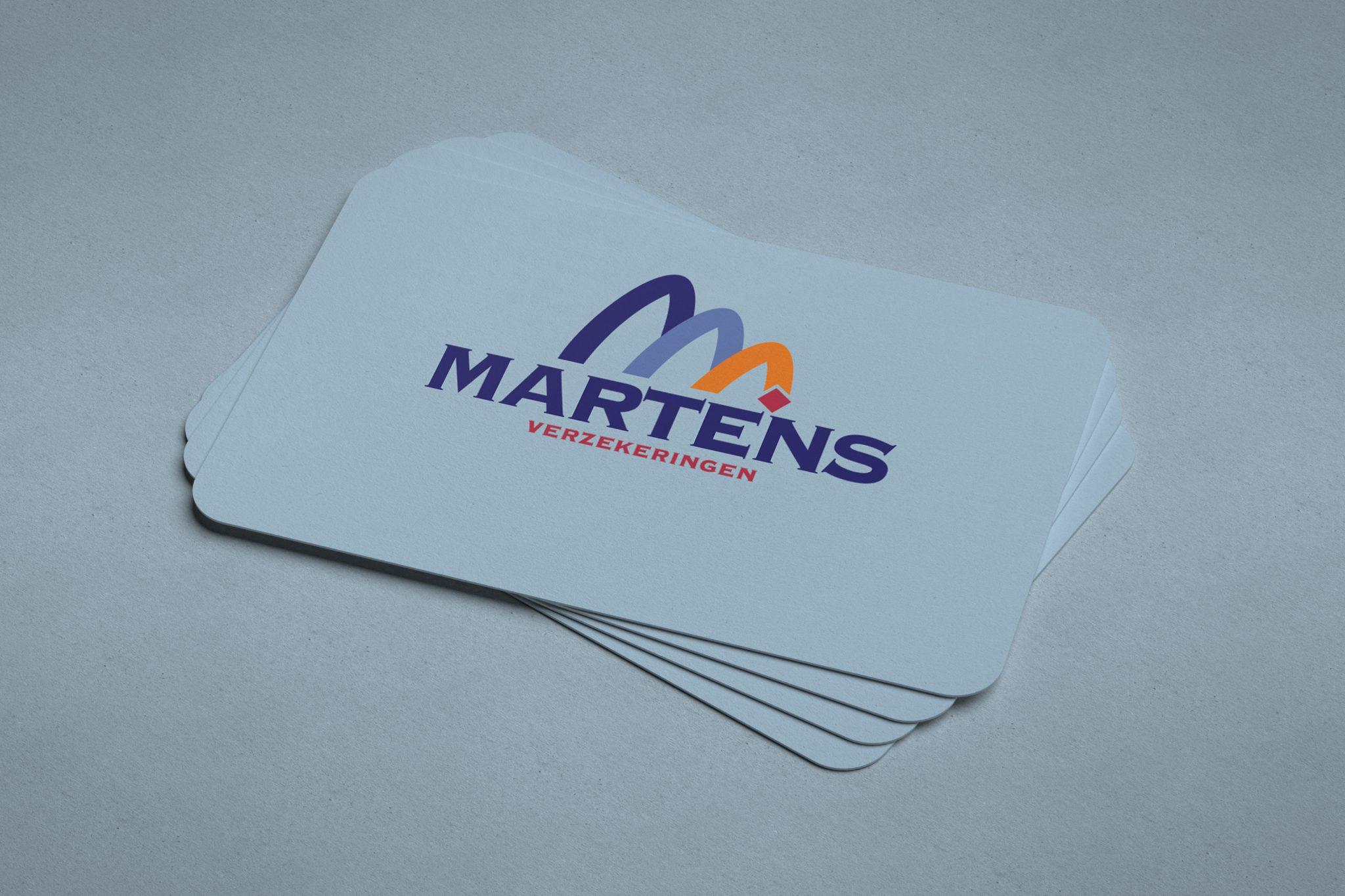 Visitekaartjes Martens verzekeringen